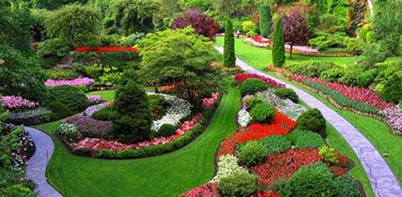 Пейзажные сады в ландшафтном дизайне