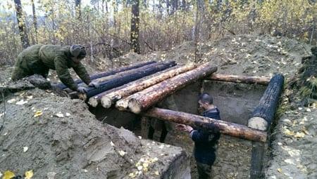 Как построить землянку своими руками