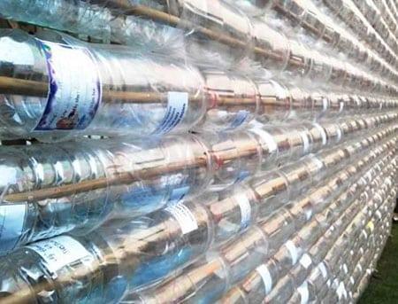 Теплицы из пластиковых бутылок