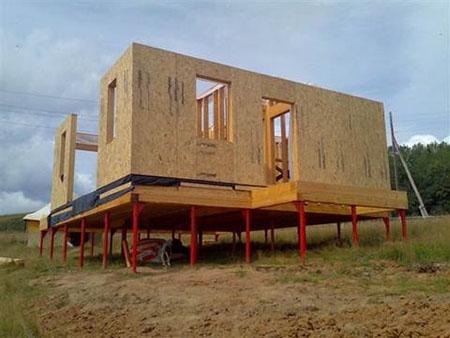 Советы по постройке недорогого дачного домика