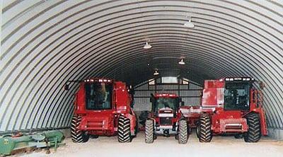 Строительство ангаров и гаражей для сельхозтехники