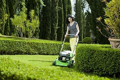 Как правильно стричь траву газонокосилкой