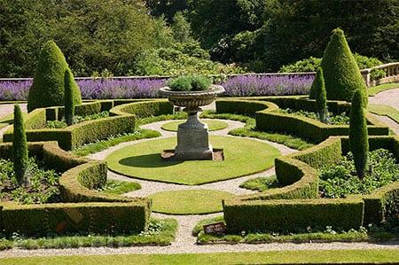 Регулярные сады на участках любого размера
