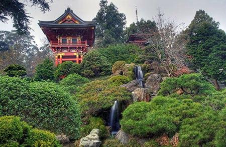 Японский сад в Японии