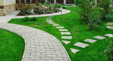 Садовые дорожки и площадки