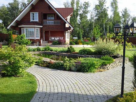 Загородный ландшафтный дизайн